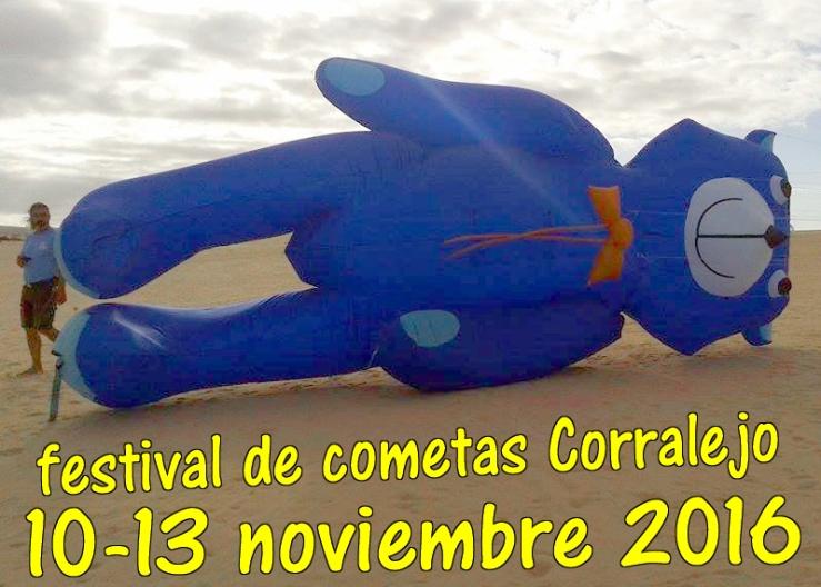 Festival de cometas Corralejo Fuerteventura 2016