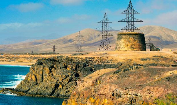 torre electricidad fuerteventura